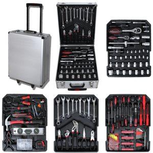 Werkzeugtrolley Inhalt